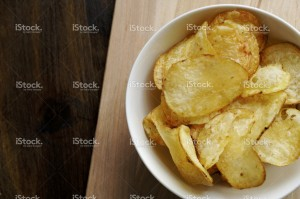 junk food as chips is a big no